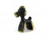 """Poodle Dog by Walter Bosse, 3.2 cm H, Marked """"Austria"""""""