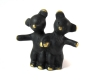 """Bears Holding Hands by Walter Bosse, Marked """"Austria"""""""