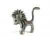 "Walter Bosse Pewter Lion, 2.8 cm H, Marked ""91%"""