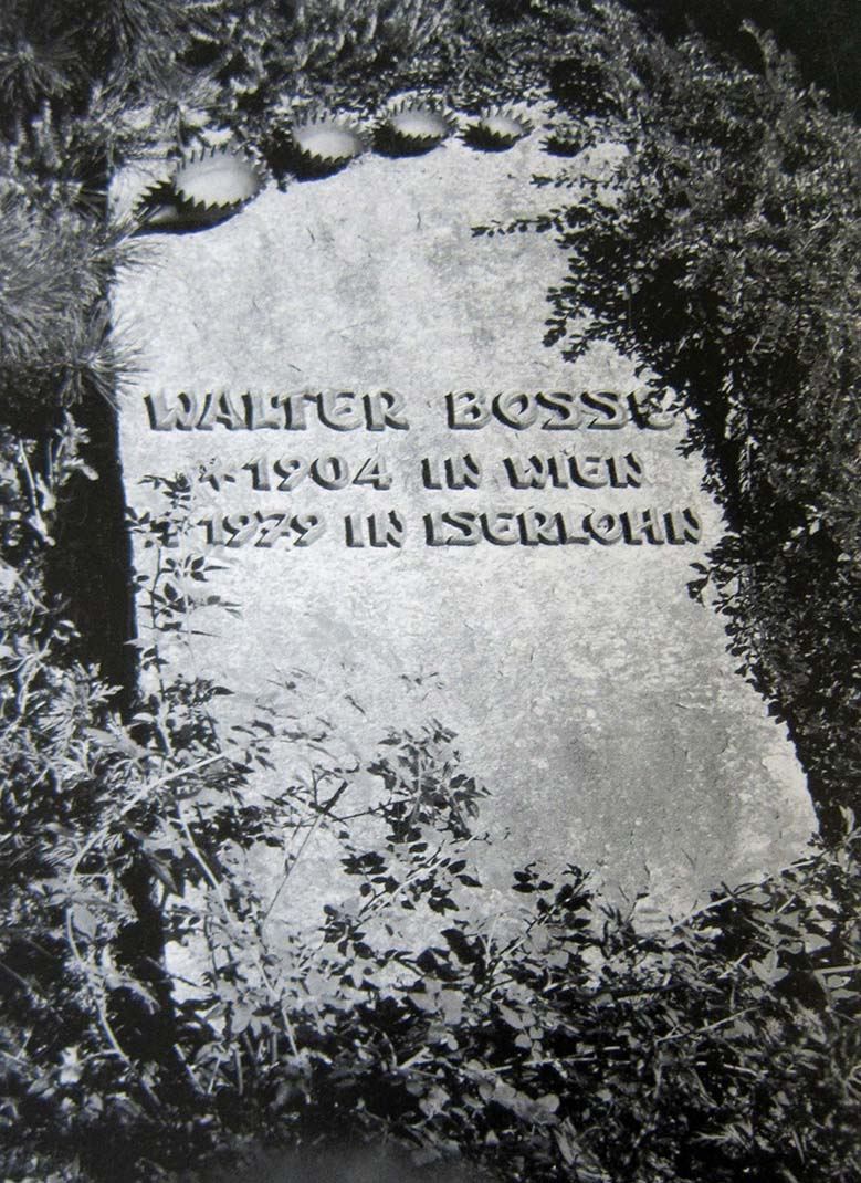 Walter Bosse's Gravestone