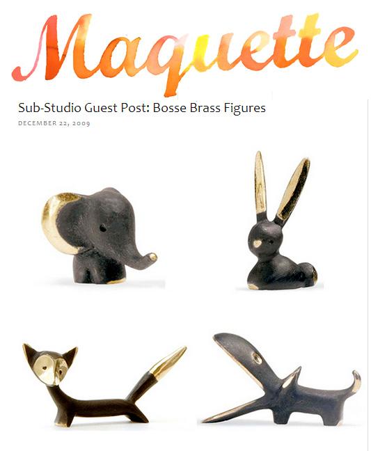 Maquette Bosse