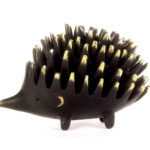 Walter Bosse XL Hedgehog Ashtrays