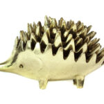 Walter Bosse Gold Hedgehog Ashtrays