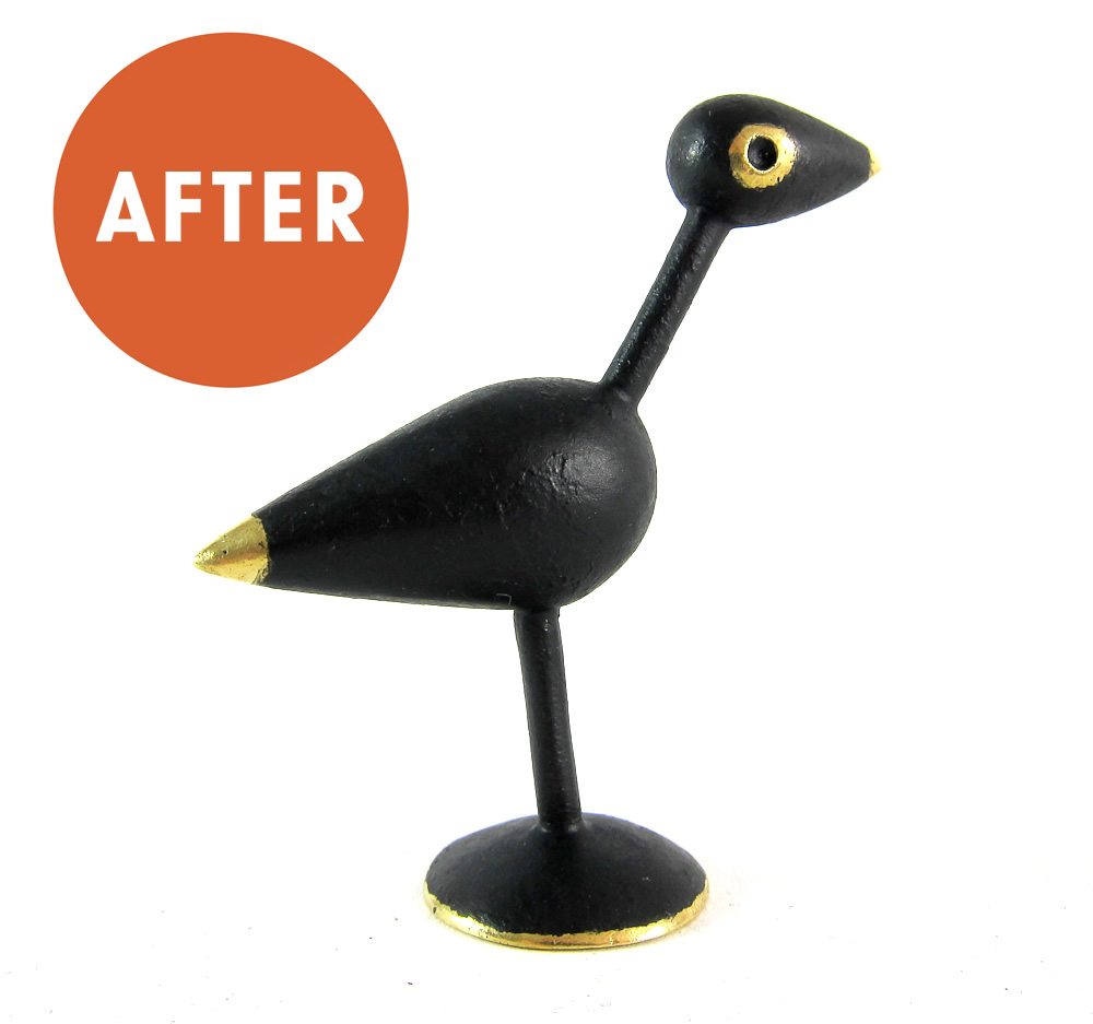 Walter Bosse Bird Figurine Restoration