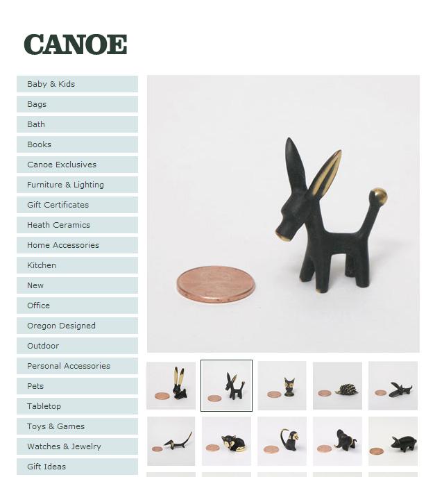 Canoe bosse