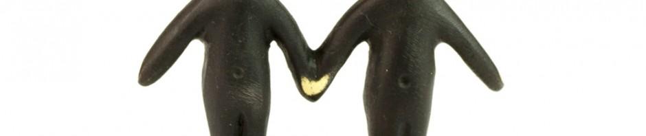 Walter Bosse Gemini Twins Figurine