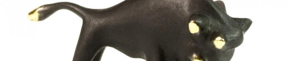 Walter Bosse Bull Figurine