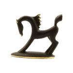 H019 - Hagenauer Brass Horse