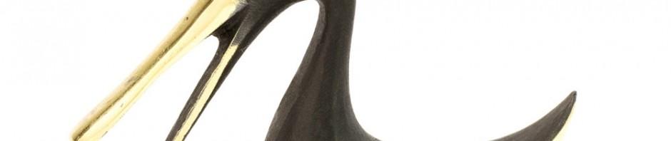 H027 - Hagenauer Brass Goose