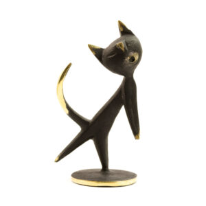 H08 – Hagenauer Brass Cat