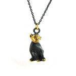 "Walter Bosse Monkey Necklace — ""Affe"" — 5239N"