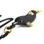 "Walter Bosse Brass Dolphin Necklace — ""Delfin"" — 6169N"