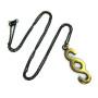 "Walter Bosse Brass Section Symbol Necklace — ""Paragraf"" — 5395N"