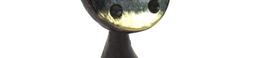 Walter Bosse vintage brass cat figurine, circa 1960s