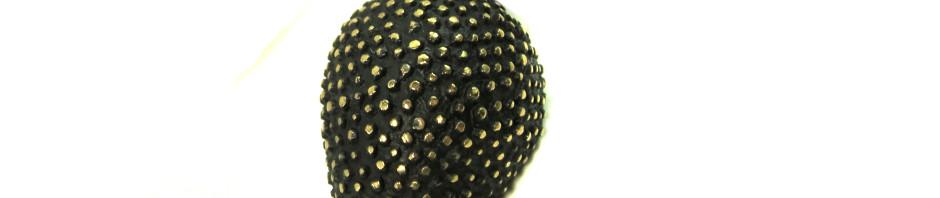 "Walter Bosse Brass Hedgehog Necklace — ""Igel"" — 6115N"