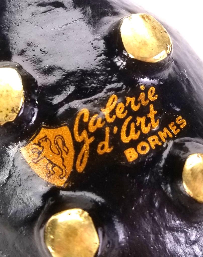 French Hedgehog Ashtrays - Galeri d'art Bourmes