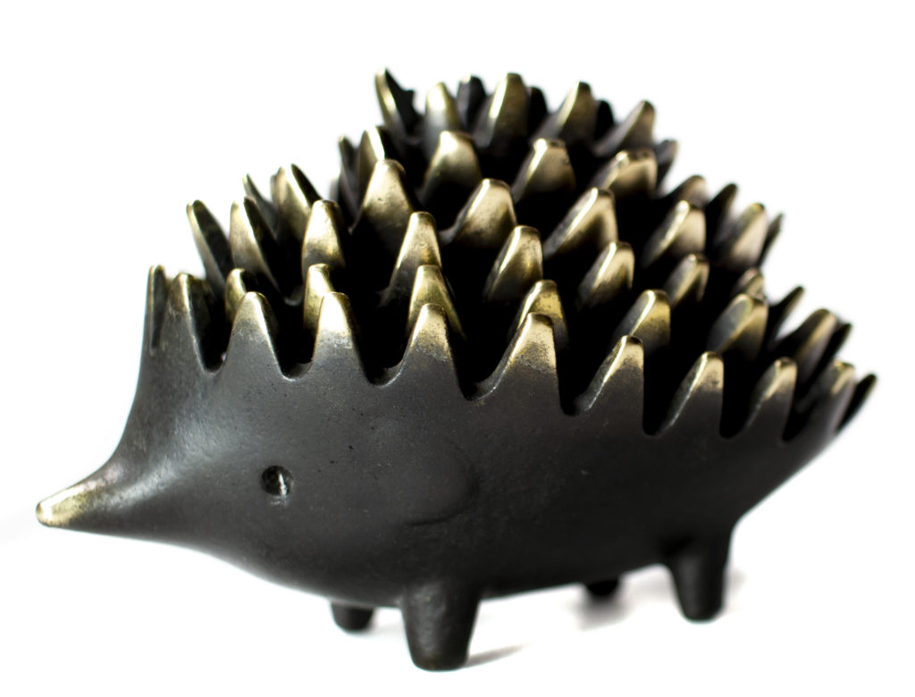 Walter Bosse Hedgehog Ashtrays - Short Nose