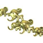 Walter Bosse Elephant Wall Hooks / Key Rack