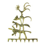 Walter Bosse Town Musicians of Bremen Wall Hook / Key Rack