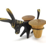 Walter Bosse Donkey Holder with Salt and Pepper Shakers