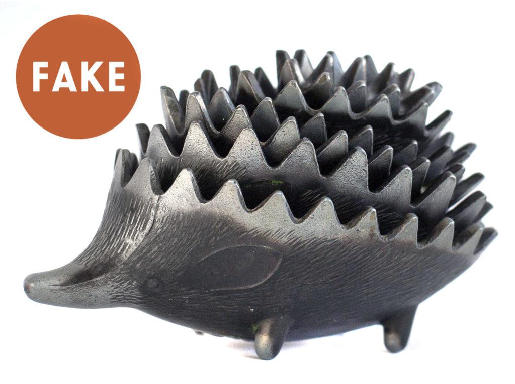 FAKE Russain Hedgehog Ashtrays