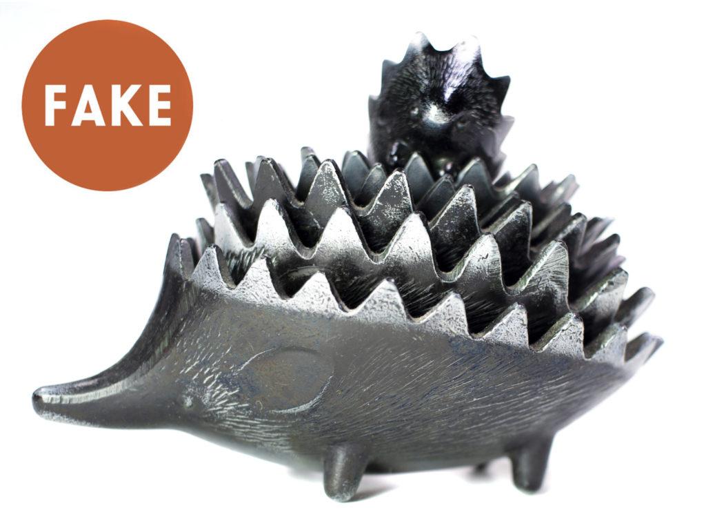 FAKE Russian Hedgehog Ashtrays