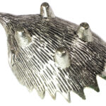 Silver Hedgehog Ashtrays