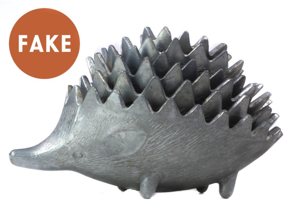 FAKE Russian Winged Hedgehog Ashtrays