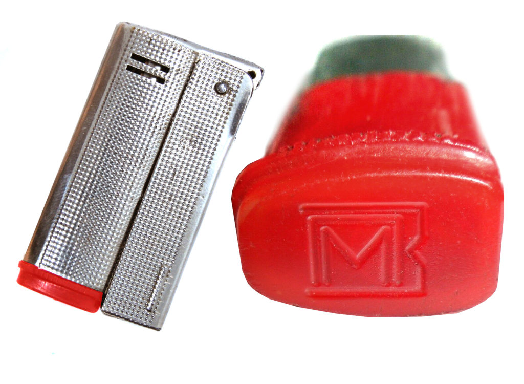 1MPZ Red Cap Metal Lighter