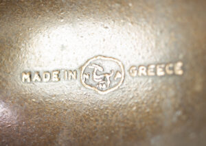 Made in Greece Mark - Hedgehog Ashtrays