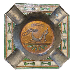 Rhodes Souvenir Deer Ashtray